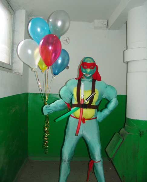 Поздравление с днем рождения для ниндзя