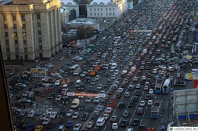 Москва стала абсолютным чемпионом Европы по пробкам